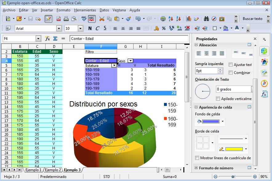 Calc open office : Tableur gratuit